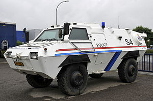 Grand Ducal Police - TM-170, Grand Ducal Police armoured vehicle