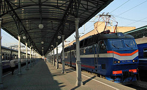 """""""Polonez"""" train from Moscow to Warsa..."""