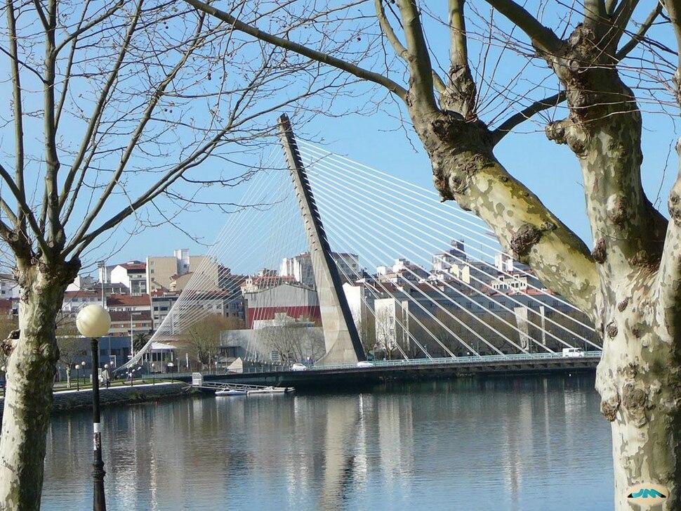 Pontevedra. Río Lérez, Ponte