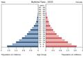 Population pyramid of Burkina Faso 2015.png