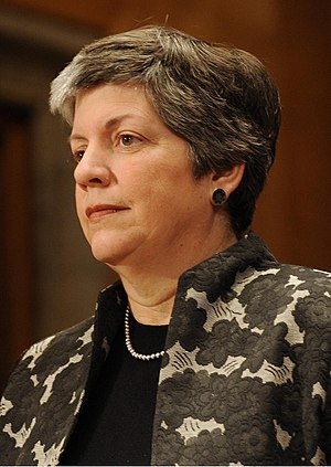 Janet Napolitano is sworn in as the third Unit...