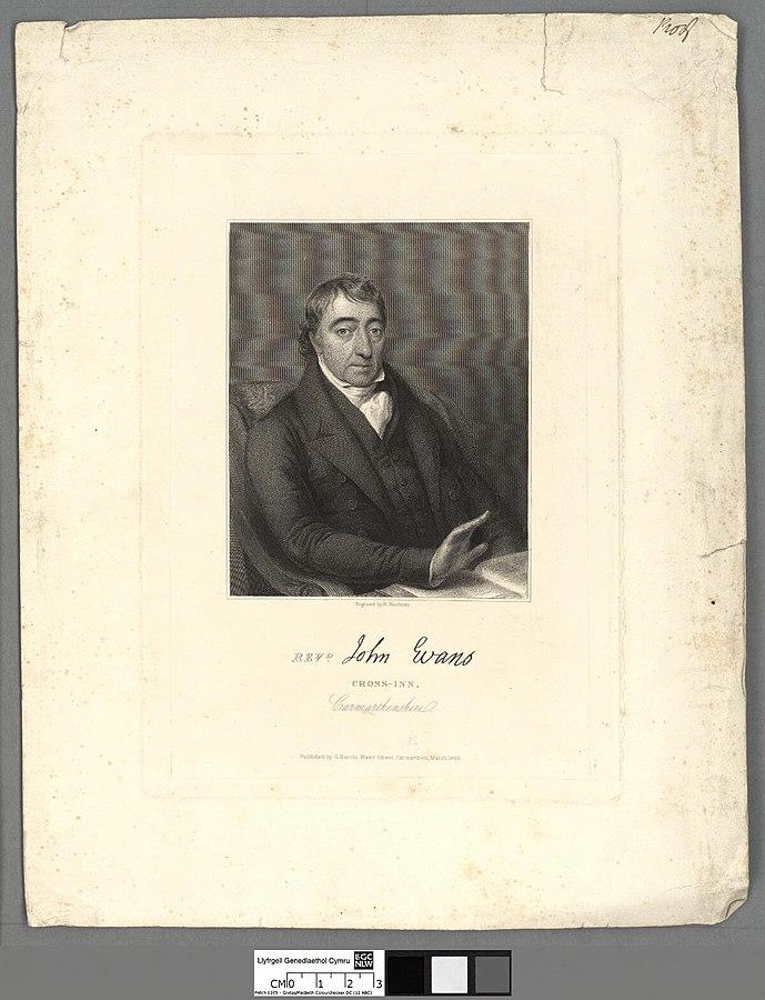 Revd. John Evans, Cross-Inn, Carmarthenshire