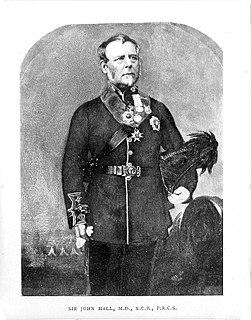 John Hall (British Army officer) British Army officer and surgeon, born 1795
