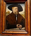 Portrait of a member of the vom Rhein Family (late 1520s) by Conrad Faber von kreuznach.JPG