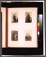Portraits of a Chinese woman holding a boy, an elderly man wearing glasses, two women, and a two needlewomen with baskets LCCN2011660108.jpg