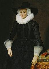 Portrait of Margarita Courten (1564-1640)