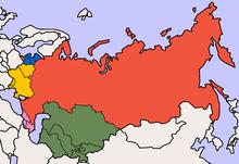 Cartina Urss.Stati Post Sovietici Wikipedia