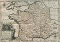 Post und Reisecarte der Wege durch Frankreich 1703.PNG