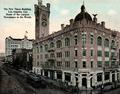 Postcard - 1912 Los Angeles Times building, demolished 1938, NE corner 1st and Broadway.png