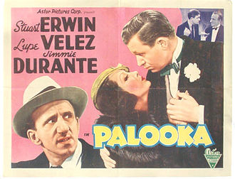 Palooka (film) - Promotional poster for the film.