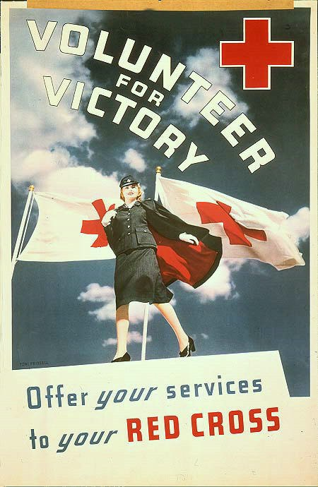 Poster-red-cross-volunteer-for-victory