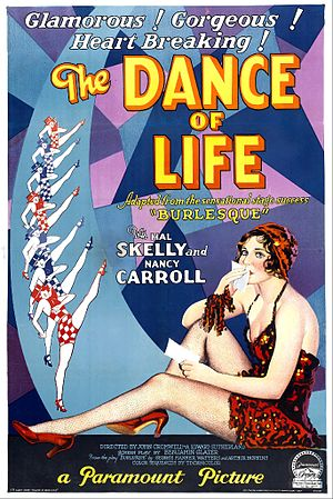 The Dance of Life - Image: Poster of the movie The Dance of Life