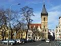 Prag - Neues Rathaus am Charles Square - Novoměstská radnice na Karlově náměstí - panoramio.jpg