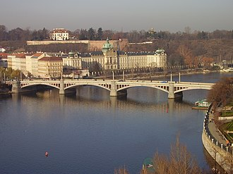 Josef Mánes - Mánes Bridge (Mánesův most), the first bridge downstream of the famous Charles Bridge, was in 1920 renamed in the painter's honour