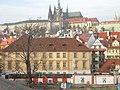 Praha, Pinkasův palác a Hradčany - panoramio.jpg