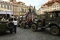 Praha, Staroměstské náměstí, veteráni US Army.jpg
