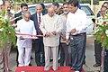 Pranab Mukherjee inaugurating the Nakshtra Vatika (Nakshtra Garden), at Rashtrapati Nilayam, Bolarum, in Hyderabad on July 06, 2015. The Governor of Telangana and Andhra Pradesh, Shri E.S.L. Narasimhan is also seen.jpg