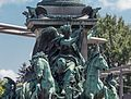 Praterstern in Vienna, Monument for Admiral Tegetthoff-5046.jpg