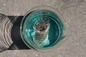 Single Displacement Reaction Wikipedia