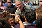 President Bush visits Fort Bragg for Fouth of July DVIDS24953.jpg
