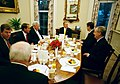 President George W. Bush shares breakfast with the Bicameral Republican Leadership.jpg