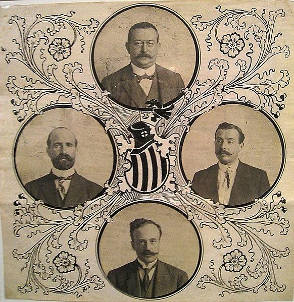 Presidentes de las cuatro Diputaciones catalanas.