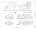 Presidio of San Francisco, Post Exchange, West end of Crissy Field, McDonald Street, San Francisco, San Francisco County, CA HABS CAL,38-SANFRA,207- (sheet 2 of 2).png