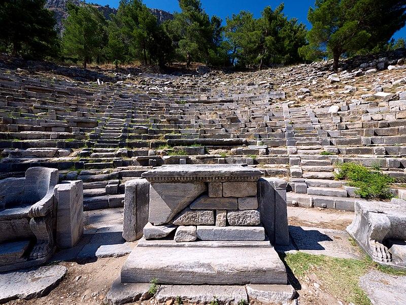 File:Priene Greek theatre - panoramio.jpg