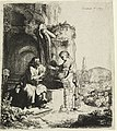 Print, Christ and the Woman of Samaria Among Ruins, 1634 (CH 18612697).jpg
