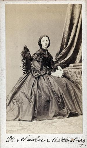 Princess Marie Gasparine of Saxe-Altenburg
