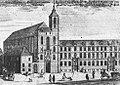 Prospectus Ducalis Ecclesiae Collegiatæ S. Mariae super arenam Canonicorum Regularium S. Augustini, Vratislaviae.jpg