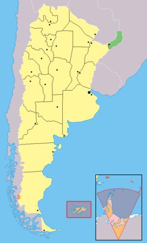 Eldorado Department - Image: Provincia de Misiones (Argentina)