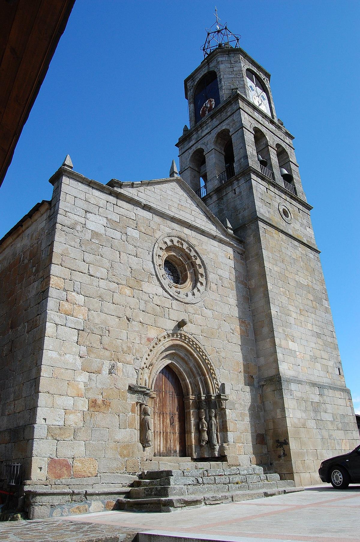 Iglesia de santa mar a del azogue puebla de sanabria for Jardin 3 marias puebla