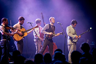 Punch Brothers - Punch Brothers, NC Museum of Art, July 16, 2015. Photo by Julianne G. Macie