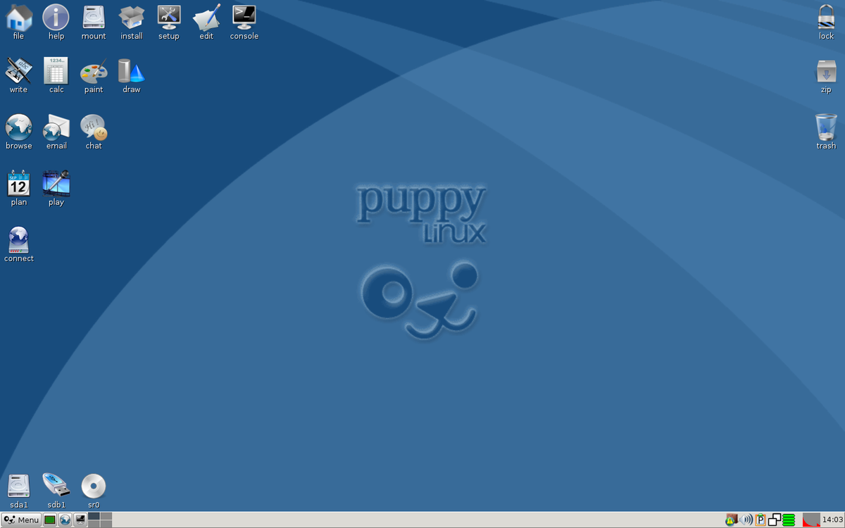Файл:Puppy Linux 5.5 Slacko.png — Википедия