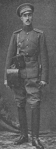 Ротмистр Врангель в 1914 году