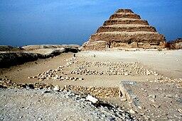 Pyramide von Djoser, von Süd 0965