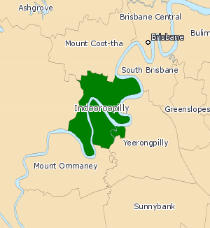 Electoral district of Indooroopilly - Indooroopilly (2008–2017)
