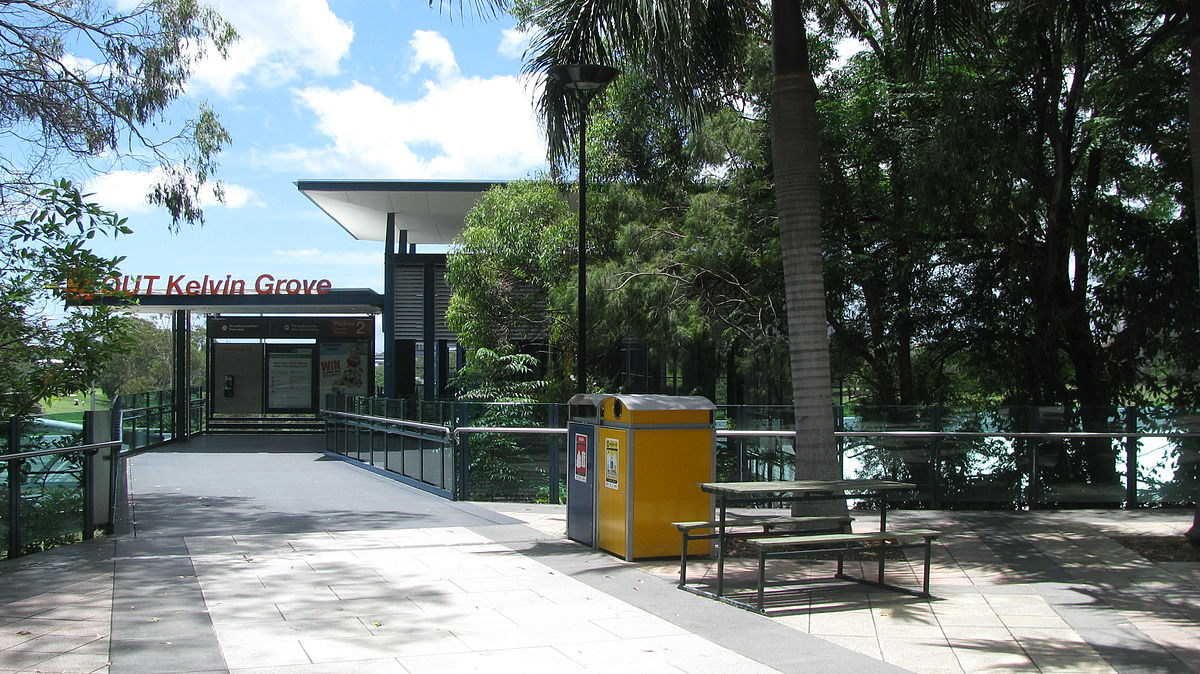 qut kelvin grove busway station wikipedia. Black Bedroom Furniture Sets. Home Design Ideas