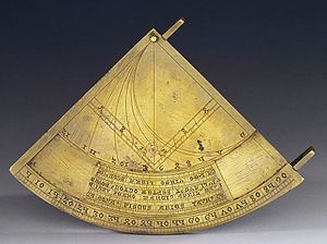 Quadrans Vetus - The Quadrans Vetus. Medici collections, Museo Galileo