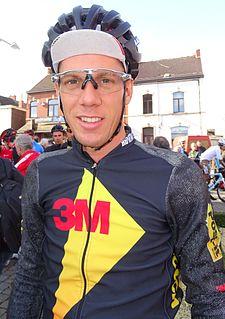 Michael Vingerling Dutch cyclist
