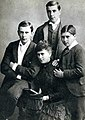 Queen Mary and her little brothers.jpg