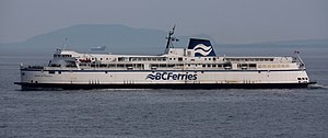 English: The BC Ferries vessel M/V Queen of Na...
