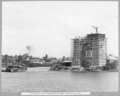 Queensland State Archives 3617 South main pier formwork for west pier cap in place Brisbane c 1938.png