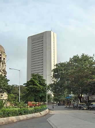 Government of India - Reserve Bank of India's headquarters in Mumbai, India's financial capital