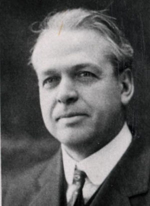 Ralph Nichols (American football) - Nichols in 1917