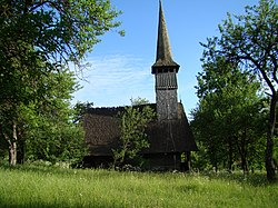 RO MM Francenii Boiului wooden church 14.jpg