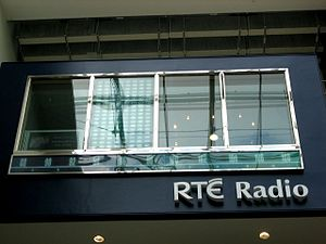 Dundrum Town Centre - The RTÉ studio in Dundrum Town Centre