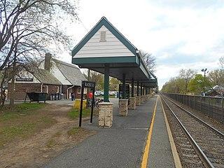 Radburn station New Jersey train stations