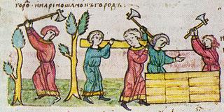 Old East Slavic manuscript